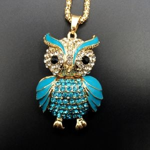 Blue Owl Pendant